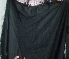 Oriental silk jacket and shawl